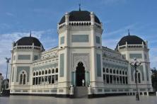 Masjid Raya Tanjung Pinang Indonesia