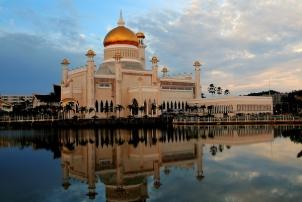 Sultan Omar Ali Saifuddin Mosque Brunei